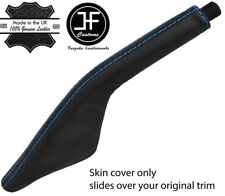 BLUE STITCH CARBON FIBER VINYL HANDBRAKE BOOT FOR PORSCHE 924 944 968 75-95