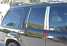 FORD EXPLORER 1998 - 2001 TFP CHROME STAINLESS STEEL PILLAR POST COVER SET