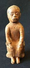 Statuette art Afrique Africa cira 1970 hauteur 19 cm