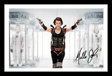MILLA JOVOVICH AUTOGRAPHED SIGNED & FRAMED PP POSTER PHOTO