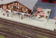 Faller H0 120206 - Bahnsteige/Grundplatten   Messepreis Bausatz Neuware