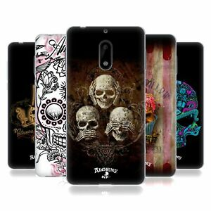 OFFICIAL ALCHEMY GOTHIC SKULL SOFT GEL CASE FOR NOKIA PHONES 1