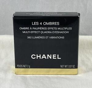 Chanel Les 4 Ombres Multi Effect Quadra Eyeshadow ~ 382 LUMIERES ET VIBRATIONS ~