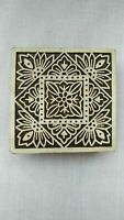 Handmade Wooden Printing Stamp Henna Fabric Textile Printing Blocks FREE SHIP