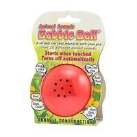 Babble Ball Interactive Animal Sounds Dog Toy Medium 7cm Diameter NEW
