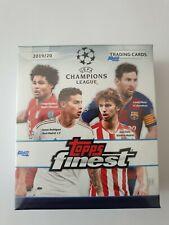 2019-20 Topps Finest UEFA Champions League Fussball Soccer MINI Box HOBBY