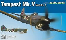 TEMPEST MK V SERIES 2 (RAF & FRENCH ACE P.CLOSTERMANN MKGS) #84170 1/48 EDUARD