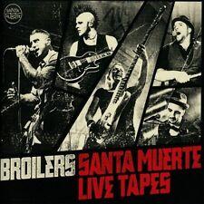 BROILERS - SANTA MUERTE LIVE TAPES  2 CD  16 TRACKS DEUTSCH-ROCK & POP  NEU