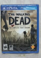 The Walking Dead: The Complete First Season (Sony PlayStation Vita, 2013) NEW