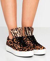Michael Kors Schuhe Sneaker low Mindy Lace Up Haircalf Butterscotch Gr.39 Neu