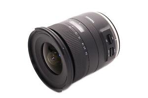 Tamron SP 10-24mm f/3.5-4.5 Di II VC HLD: Canon EF Mount