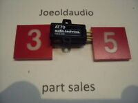 Used  Audio Technica AT70 Cartridge Needs Stylus (Needle) Tested.