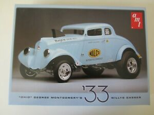 1/25 scale 33 Willys gasser by AMT. Complete in box.