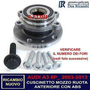 Cuscinetto Ruota Anteriore per AUDI A3 A 3, Sportback, Cabrio 8P 03-13 AMVW018
