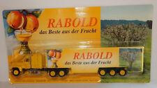 GRELL HO 1/87 CAMION TRUCK TRAILER FORD LTL 9000 CIDRE RABOLD LOHNVERMOSTUNG BOX