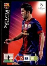 Panini Liga de Campeones 2012-2013 ADRENALYN XL David Villa FC Barcelona