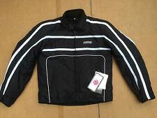"""MENS Textile Waterproof  Motorbike / Motorcycle /Biker Jacket UK 38"""" Chest (C98)"""