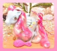 ❤️My Little Pony MLP G1 VTG Candy Cane Sugar Apple Blue Pink Pegasus Curly❤️