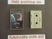 """RAINBOW DOWN TO EARTH CASSETTE """"SINCE YOU BEEN GONE"""" RITCHIE BLACKMORE 47"""