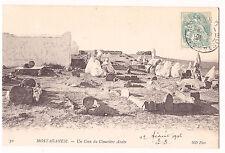 CPA ALGERIE - MOSTAGANEM - UN COIN DU CIMETIERE ARABE 1906
