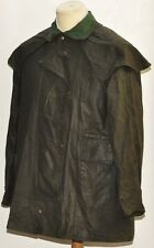 GREAT VINTAGE MEN'S WAX  DRIZA-BONE SHORT COAT EXTRA SMALL GREEN