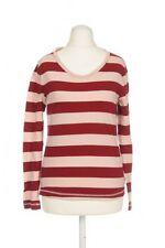 Gestreifte Langarm Mädchen-Tops, - T-Shirts & -Blusen mit Rundhals-Ausschnitt