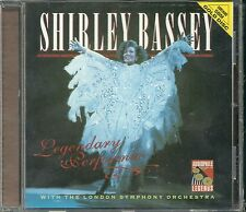 Bassey, Shirley Legendary Performer 24 Karat Gold CD Audiophile Legends Neu OVP