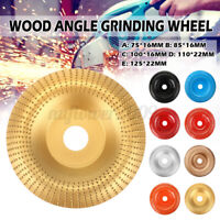 75-125mm Carbide Wood Sanding Carving Tool Shaping Disc For Angle Grinding
