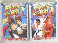 SEIDEN STREET FIGHTER II 2 V Manga Comic Complete Set 1&2 TAKAYUKI SAKAI Book SG