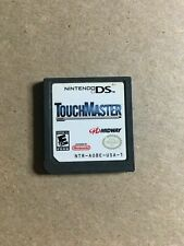 TOUCH MASTER - NINTENDO DS - GAME ONLY - FREE S/H - (FF)