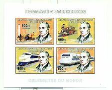 TRAINS - CONGO 2006 A. Stephenson set imperforated