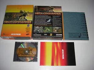 MECH COMMANDER Pc Cd Rom MECHCOMMANDER Original BIG BOX Version FAST DISPATCH