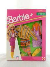 Vintage 1990 Mattel Barbie United Colors of Benetton Fashions Clothes 9473 NEW