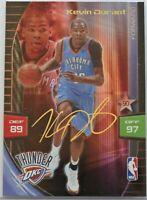 2009-10 KEVIN DURANT Panini Adrenalyn XL Signature Basketball Card