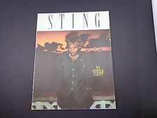 "* Sting- book by Steve Gett-out of print-8.5x11"" 50pp ( Police)"