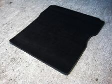 Racing XL Black SUPER VELOUR Boot Mat to fit Renault Megane Mk3 (No Rear Seats)