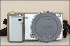 Sony Alpha NEX-5 14.2 MP ILCE E Mount Silver Camera Body - Excellent Plus Cond