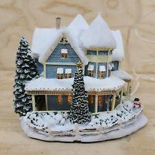Thomas Kinkade Hawthorne Village Christmas  Holiday Bed and Breakfast 79971