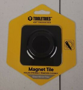 Tooletries Magnet Tile The Archer Glass Mirror Tiles Get Organized Holds Strong