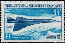"""TERRES AUSTRALES AERIENS N°19 """"AVION SUPERSONIQUE CONCORDE 85 F."""" NEUF xx TTB"""