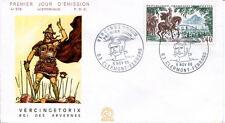 FRANCE FDC - 585 1495 1 VERCINGETORIX - CLERMONT-FERRAND 5 Novembre 1966 - LUXE