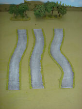 WARGAMES 15mm METALLED tarmac FLEXI ROAD No4 Flames of war, WW2 made by FATFRANK