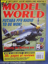 RCMW RC MODEL WORLD JANUARY 2002 SCRAPPY & CHUNKIE PLANS TYPHOON 40 SAXON 82