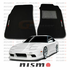 NISMO S13 BLACK 180SX CUSTOM MADE FLOOR MATS SET OF 2 30% OFF Type X Nissan