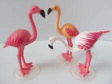 Playmobil 3 Flamant oiseaux Nouveau Extras Pour Zoo/African Wildlife Safari
