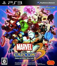 USED PS3 Marvel VS. Capcom 3 Fate of Two Worlds game soft