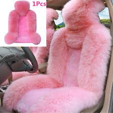 1x Genuine Australian Sheepskin Fur Car Front Seat Cover Winter Warm Seat Cover