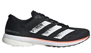 Adidas adizero Adios 5 M Laufschuh ( EE4292 ) Schwarz Weiß Running NEU OVP