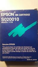 Genuine EPSON S020010 HGIC 3 Cartucho de tinta (SQ-870/1170) -! Original!