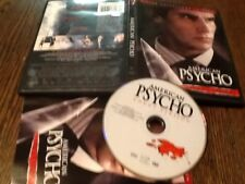 American Psycho (Dvd, 2005, Uncut) Used Horror Thriller Nudity Free Us Shipping